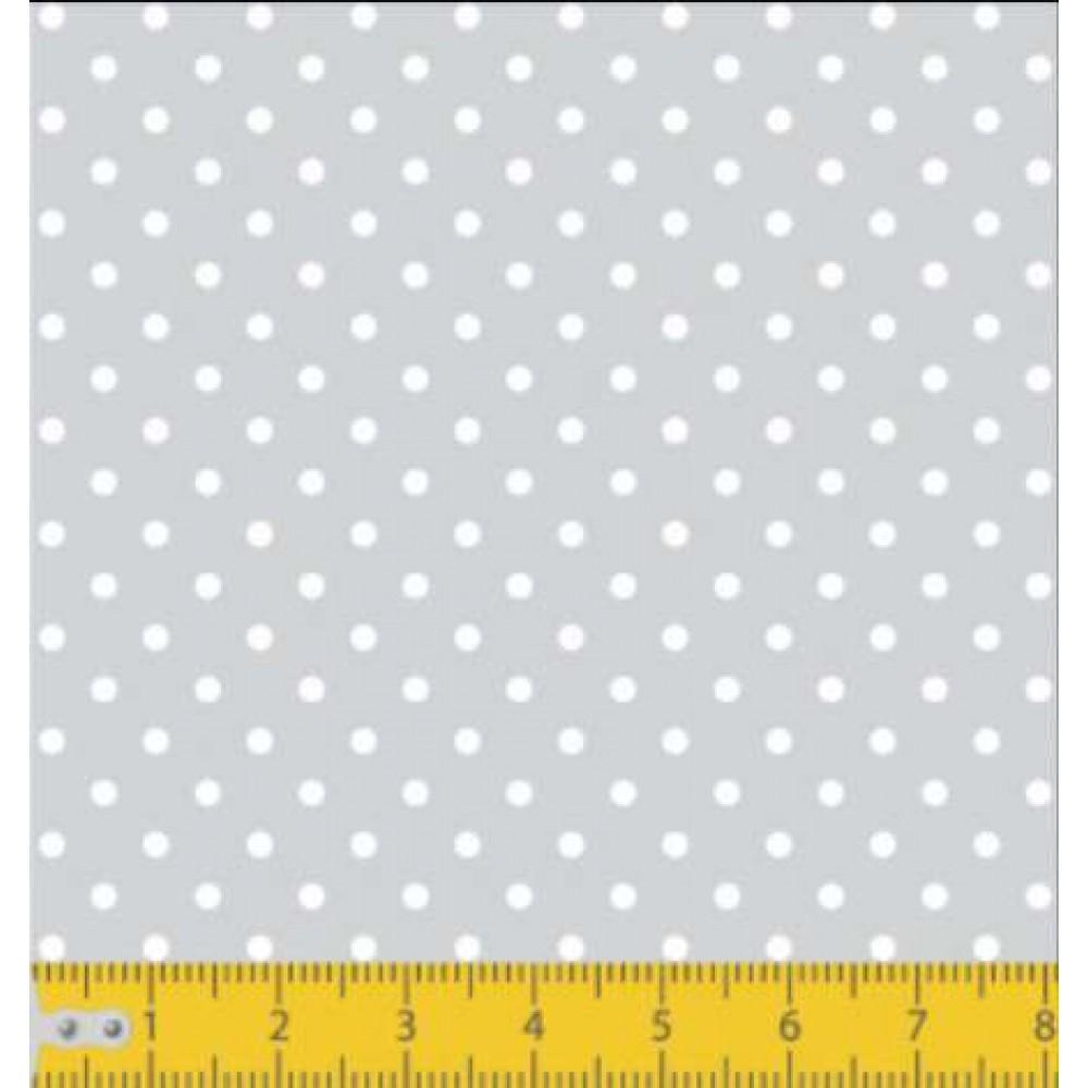 Tecido Tricoline - Poá Bola 2 - 100% Algodão - 1,50m largura - Variante 91