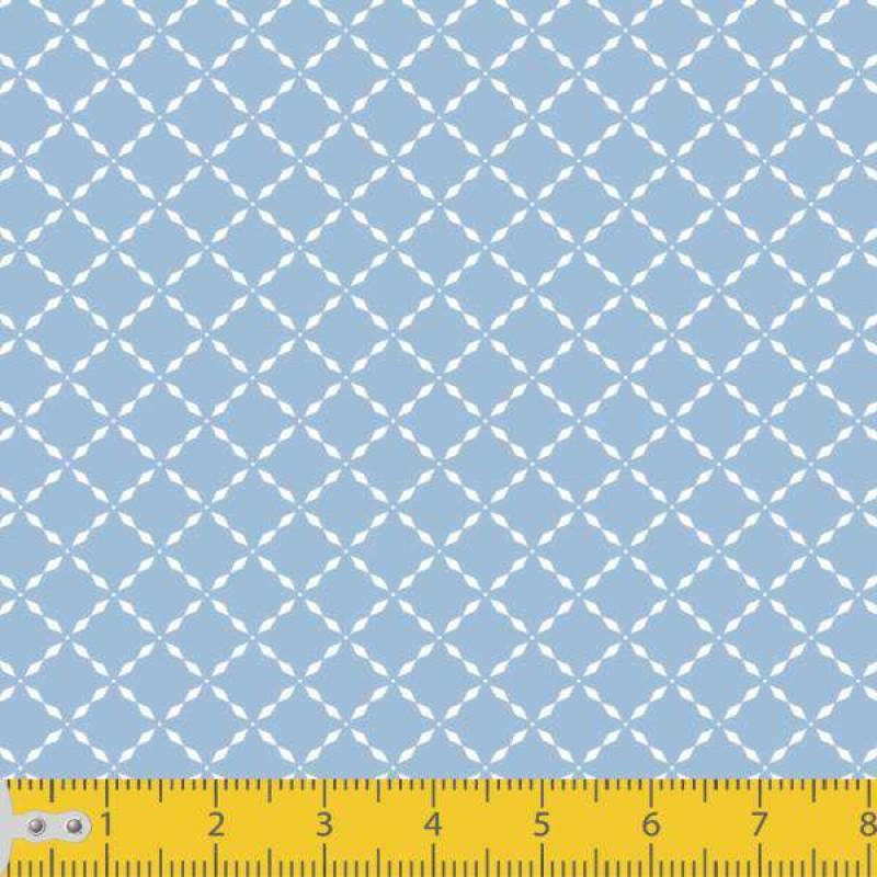 Tecido Tricoline - Losango Pontilhado - 100% Algodão - 1,50m largura - Variante 82