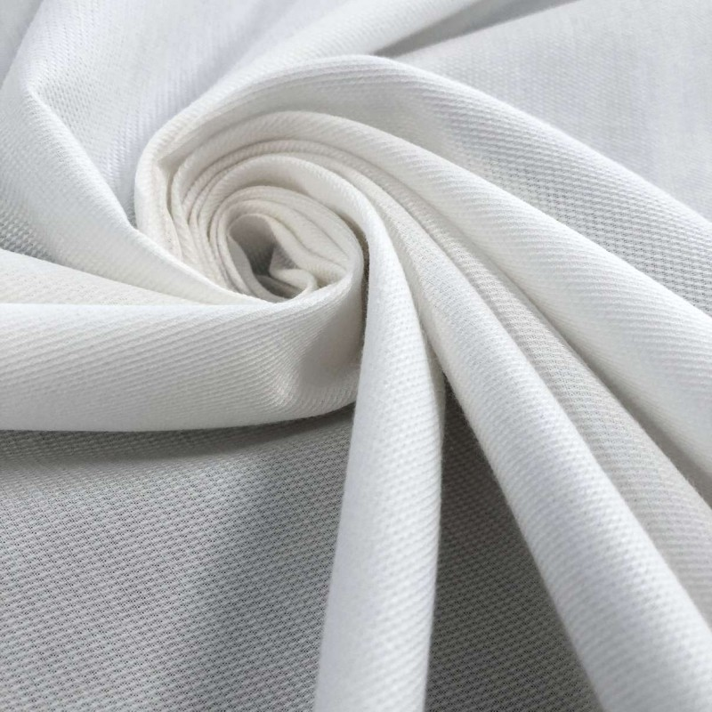 Tecido Fustão Liso - 100% Algodão - 1,45m largura - Branco