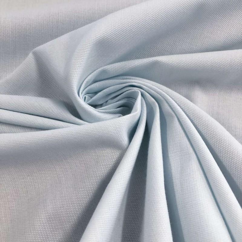Tecido Fustão Liso - 100% Algodão - 1,45m largura - Azul bebê