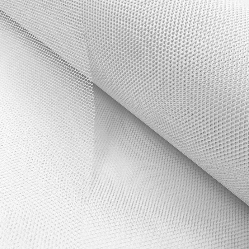Tela Voley Resinada - 100% Poliamida - Largura 1,50M - Branco
