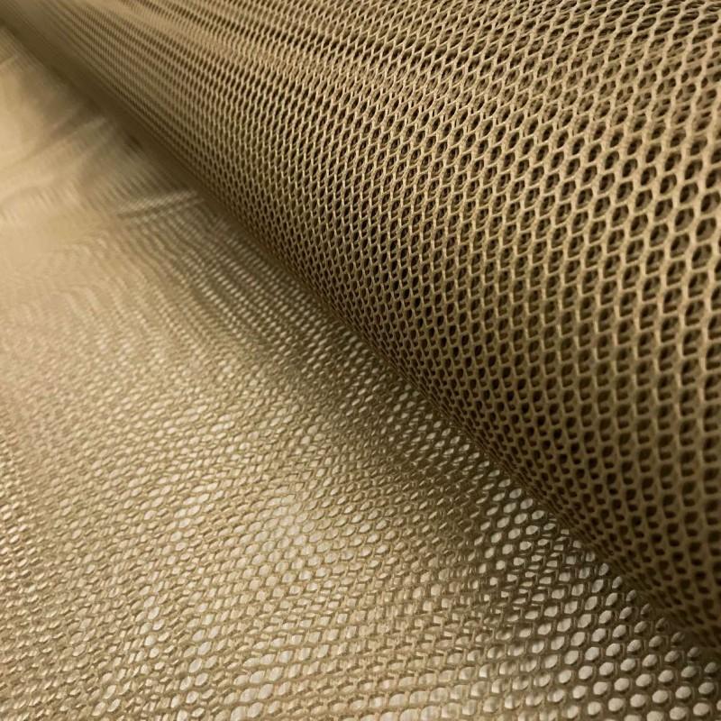 Tela Voley Resinada - 100% Poliamida - Largura 1,50M - Caqui