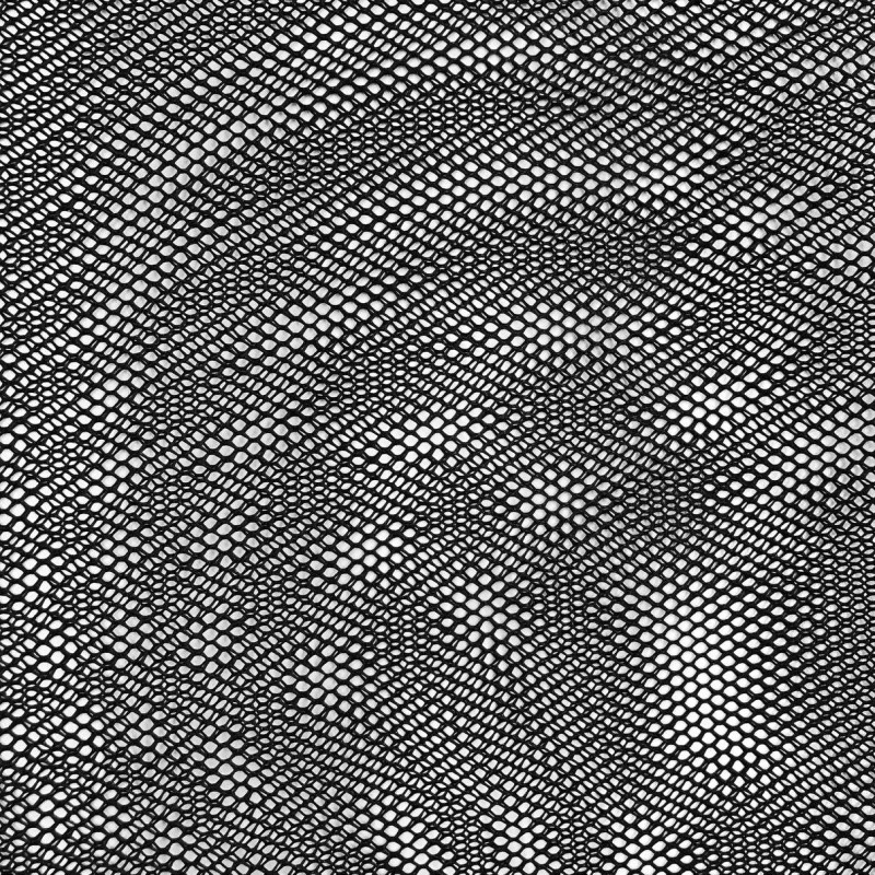 Tela Voley Resinada - 100% Poliamida - Largura 1,50M - Preto