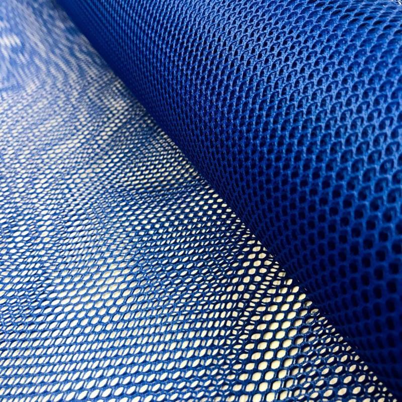 Tela Voley Resinada - 100% Poliamida - Largura 1,50M - Azul royal