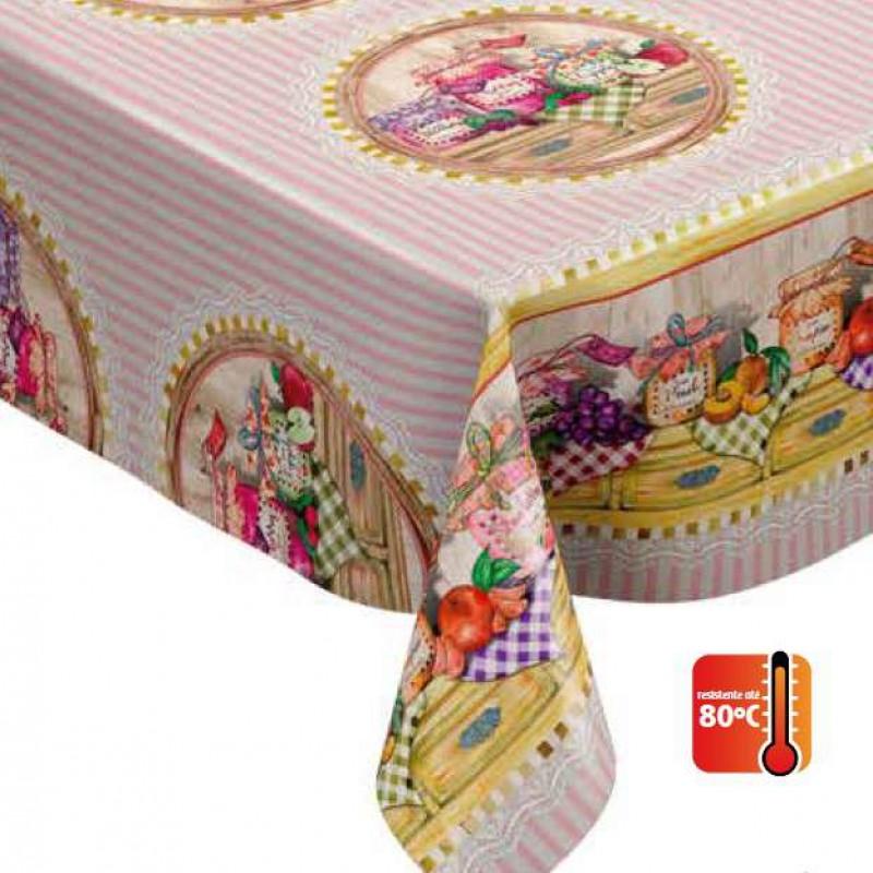 Toalha Plástica - Jelly (Barrado) - 100% Polipropileno - 1,40m Largura - Cor unica