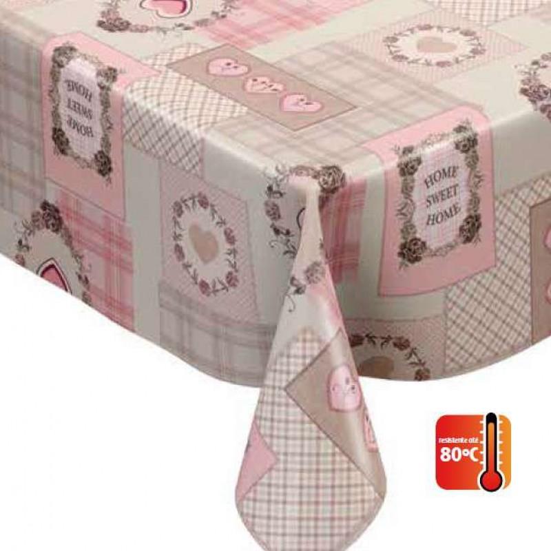 Toalha Plástica Sweet Home (Barrado) - 100% Polipropileno - 1,40m Largura - Cor unica