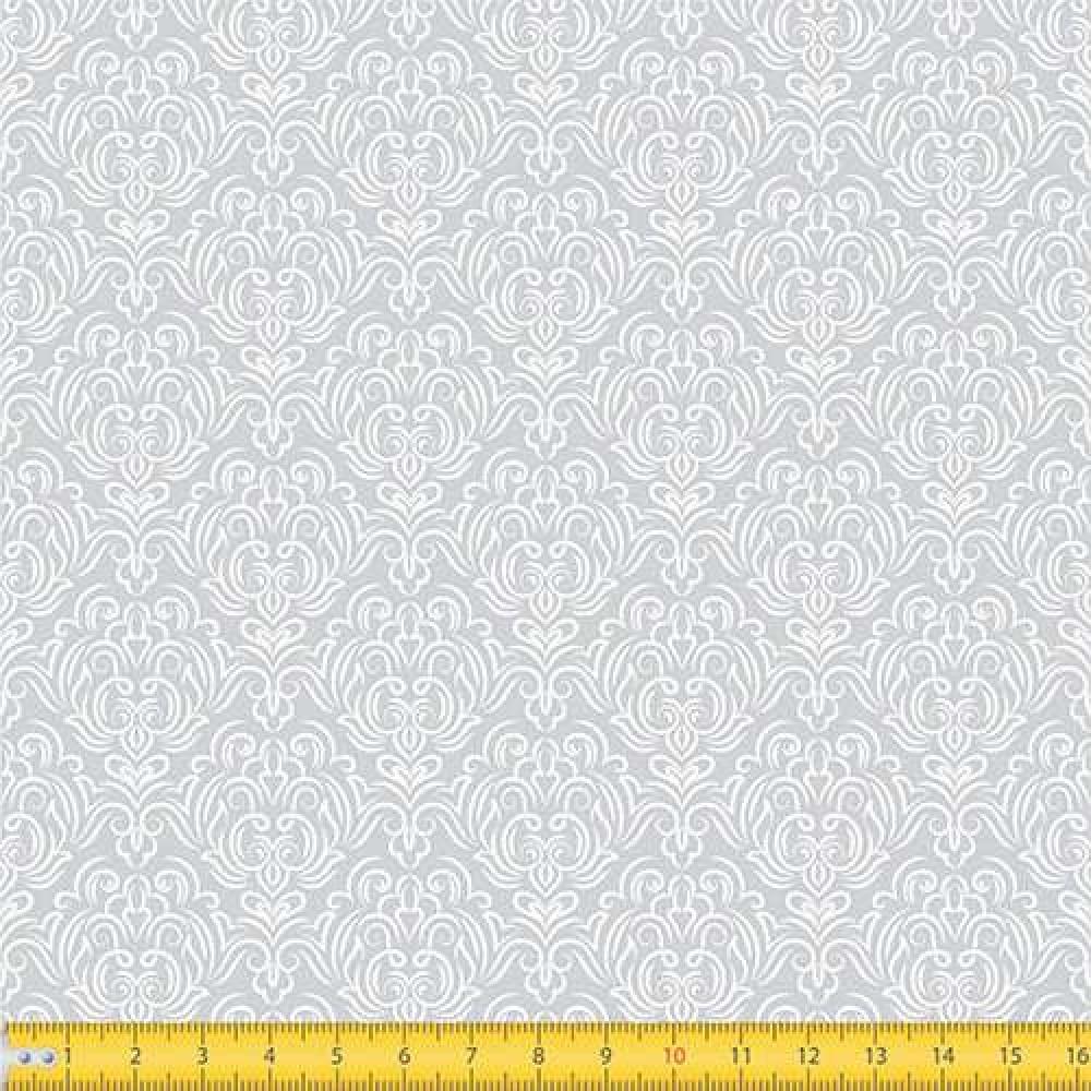 Tricoline Estampada - Adamascado - 100% Algodão - 1,50m largura - Variante 203