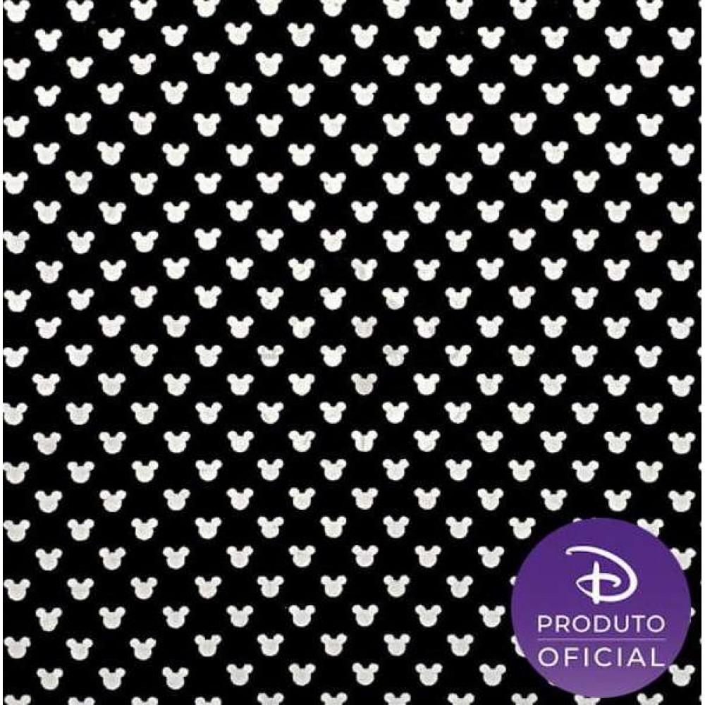 Tricoline Fernando Maluhy - Poá Disney Mickey - 100% Algodão - C01